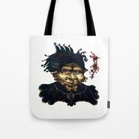"""agents of shield Tote Bags featuring """"Loyal Agents"""" by Liz Heller"""