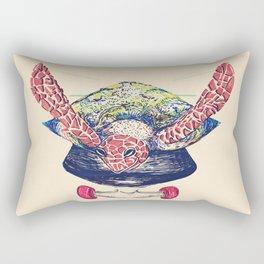 Swifty Turtle Rectangular Pillow
