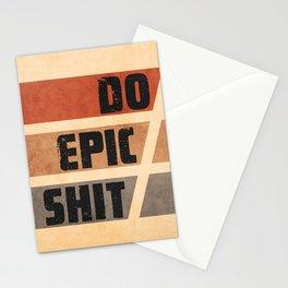 Do Epic Shit 2 - Grunge style Stationery Cards