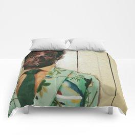 Man in Tian Suit Comforters