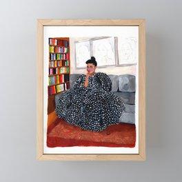 She Slays Framed Mini Art Print