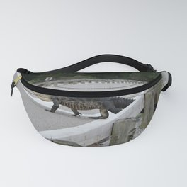 Alligator Watch Fanny Pack