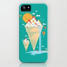 mystery island iPhone (5, 5s) Slim Case
