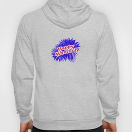 Happy 4th of July Graphic Logo Hoody