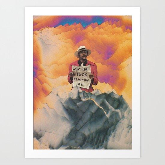 What the Fuck Art Print