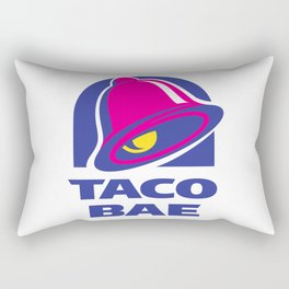 Taco Bae Rectangular Pillow