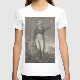 Vintage George Washington Portrait (1854) T-shirt