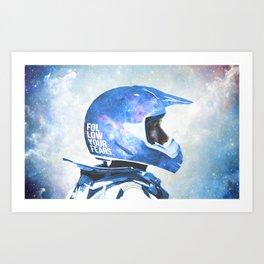 White Space Art Print