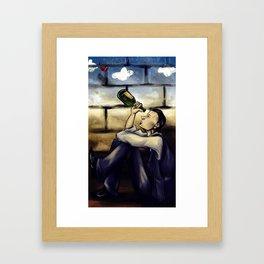 The Fool Framed Art Print