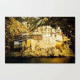 Grigoriou Monastery, Mount Athos, Greece Canvas Print