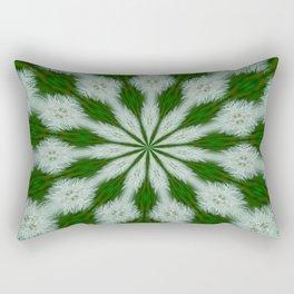 Taraxacum Officinale Seed  Rectangular Pillow
