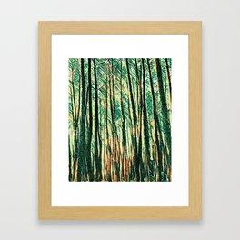 tree of paint Framed Art Print