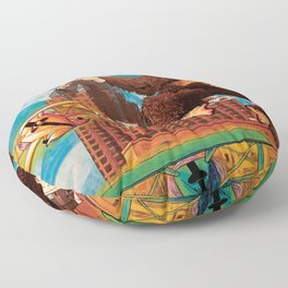 Milwaukee vs. the Super Ape Floor Pillow