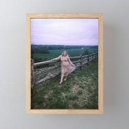 Loving The Fresh Air Framed Mini Art Print