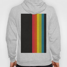 Retro Camera Color Palette Hoody
