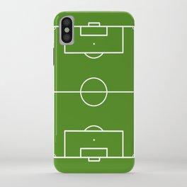 Football field fun design soccer field iPhone Case