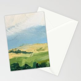 original abstract imagined landscape number3 Stationery Cards