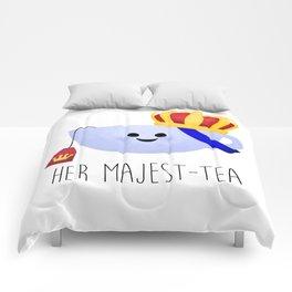 Her Majest-tea Comforters