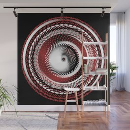 Spinning Out of Control Wall Mural