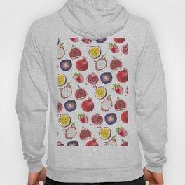 Mixed fruit pattern Hoody