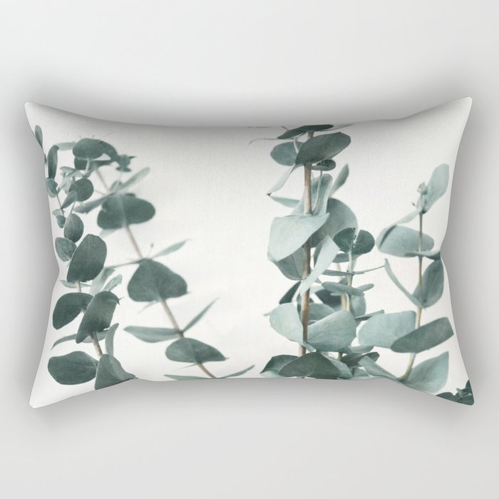 Eucalyptus Leaves Rectangular Pillow