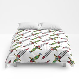 taditional Dagger pattern Comforters