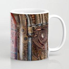 Rusty Gears Steampunk Portal Coffee Mug