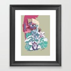 Stream of Tears Framed Art Print