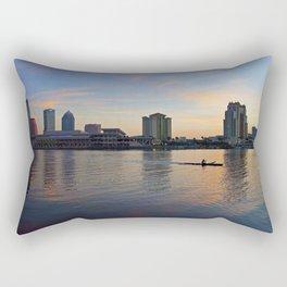 Tampa Sunrise Rectangular Pillow