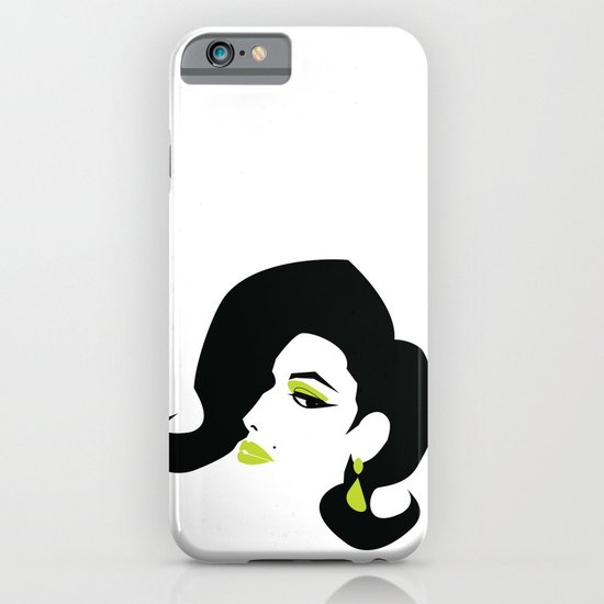profile - green iPhone & iPod Case