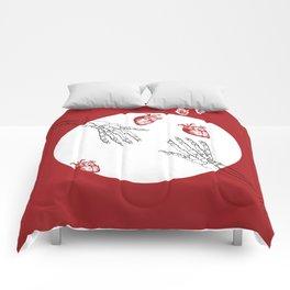 Almost Love - Skeleton Hands Comforters