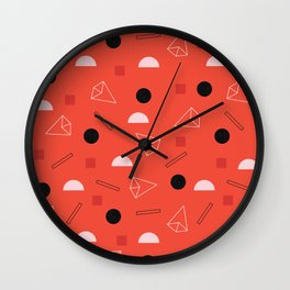 Geometric Life Wall Clock