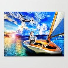 Dawn-Treader Canvas Print
