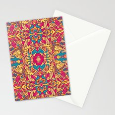 Eye Of The Beast Pattern Stationery Cards