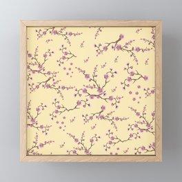 SAKURA LOVE - SUNNY VANILLA Framed Mini Art Print