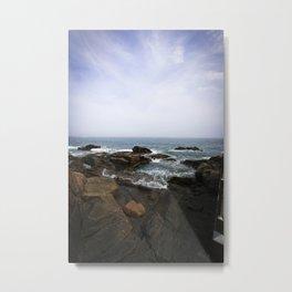 Acadia View - Ocean Scene  Metal Print