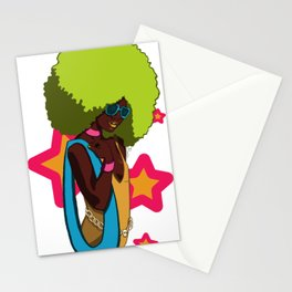 70s Star Stationery Cards