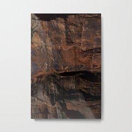 Zion Texture Metal Print
