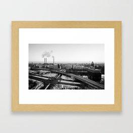 Berlin during winter Framed Art Print