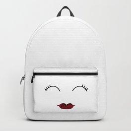 Merlot Lips Backpack