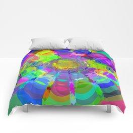 Circle Art 1 Comforters