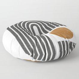 Modern Shape Art Floor Pillow