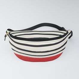 Red Chili x Stripes Fanny Pack
