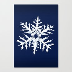 Evil Snow Canvas Print