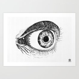 Minds Eye Art Print