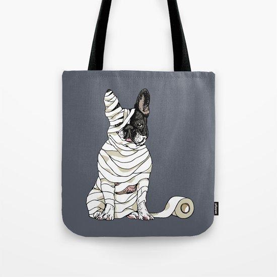 Mummy French Bulldog Tote Bag