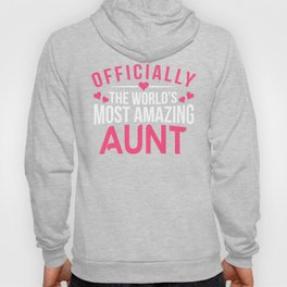 Officially Amazing Aunt Gift Ideas Hoody
