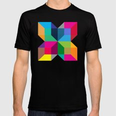 The Intersection Mens Fitted Tee Black MEDIUM
