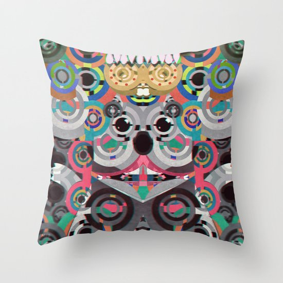 KiNG KoALA Throw Pillow