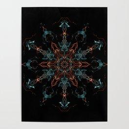 Metatron Vibes Mandala Poster